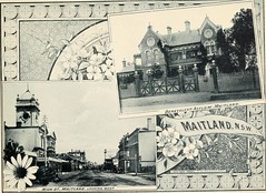 Benevolent Asylum and High Street, Maitland, N.S.W. (maitland.city library) Tags: maitland newsouthwales beautiful sydney fertile west newcastle coalopolis george robertson 1896 university california libraries benevolent asylum high street town hall