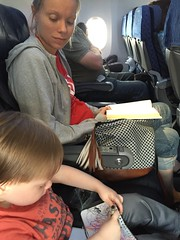 "Paul Colors with Mommy on the Airplane to Dallas • <a style=""font-size:0.8em;"" href=""http://www.flickr.com/photos/109120354@N07/27244232953/"" target=""_blank"">View on Flickr</a>"