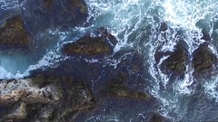 Drifting (Brian K. Brown) Tags: bkbphotovideo drone beach ocean water rocks newhampshire
