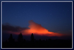 ForestHillFire_3275 (bjarne.winkler) Tags: from ca west night forest train fire town george head no hill first eldorado pm 930 wildfire containment