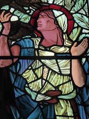 Elijah (Granpic) Tags: window norfolk stainedglass vitrail elijah cromer preraphaelite cromerparishchurch norfolkchurch stpeterstpaulcromer vidreriadecolores