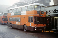 G M Buses 7828 (UNA 828S) (SelmerOrSelnec) Tags: bus manchester leyland parkroyal gmt atlantean gmbuses piccadillybusstation una828s
