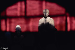 Rojo (El que retrata) Tags: rome sculpture red museum shadow dark philosophy psychology logic religion literature italy