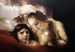 Bless You My Child (Steve Taylor (Photography)) Tags: portrait art girl painting children child calm blessing rembrandt jacobblessingjosephssecondson