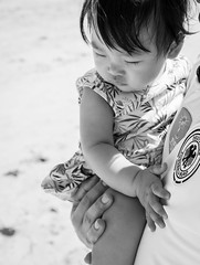 Sunshine + Sea again (Steve Wan^_______________,^) Tags: travel love beach japan hotel monterey tiger daughter journey join wife fujifilm okinawa  x100t