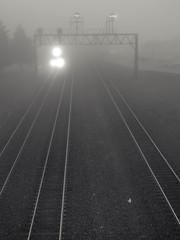 Morning Train   28   2.8   #31 (coneslayer) Tags: railroad fog unitedstates pennsylvania air traintracks tracks trains transportation railroadtracks summerhill groundtransportation smcpa28mmf28