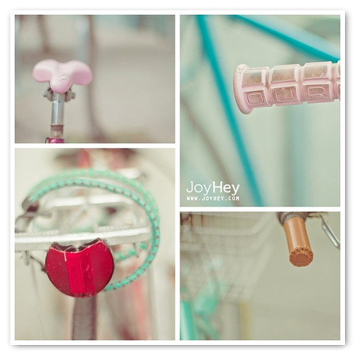 Pastel Bicycles / JoyHey