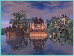 Reflets accueillants ... (Tim Deschanel) Tags: life landscape tim megan sl reflet reflect second paysage exploration deschanel crimarizon prumier