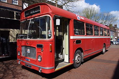 PVT207L ex-PMT Bristol RESL (Mr Anchovy) Tags: buses transport first preserved pops staffordshire newcastleunderlyme pmt bristolre potteriesmotortraction ironmarket pvt207l