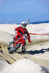 Running on the beach (Prof. Ivan Sinopoli) Tags: beach cross moto motocross davoli