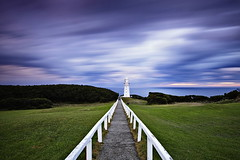 Long Exposed Lighthouse