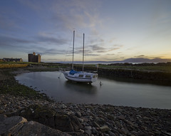 Portencross harbour (Mandlenkhosi) Tags: longexposure seascape landscape scotland ayrshire sigma1020mm ndfilter portencross sigma1020 hoyand400 d5100 nikond5100 nkhosi