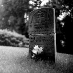 George, Son of Anthony (photo_secessionist) Tags: bw friedhof cemeteries 6x6 film cemetery grave stone blackwhite carved kodak cementerio maryland ukraine bn d76 marker hp5 medium format cemitério kiev arsenal ilford киев cimetière salut советский selfdeveloped cementerios cemitérios cimiteri украина cimetières friedhoefe салют autaut ссср cimiteris middlehamchapel saluts вега салютс арсенал vega12b2880mmlens 12б