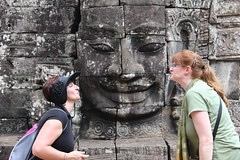 "Bayon Kiss - Kelly and Rhonda <a style=""margin-left:10px; font-size:0.8em;"" href=""http://www.flickr.com/photos/46768627@N07/7062839909/"" target=""_blank"">@flickr</a>"