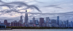 The Clouds that Ate Chicago (Flipped Out) Tags: cloud chicago skyline solidarity vr chicagoist weired f4556g d700nikkor80400mm formationsunsete planetariumpanoramanikon driveadler