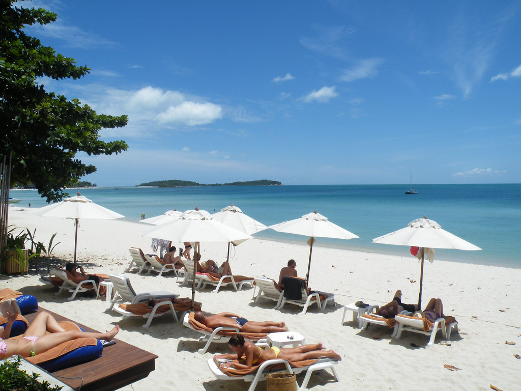 Glorious weather, Chaweng Beach, Ko Samui