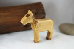 Wooden Toy Horse (kris10dale) Tags: wood horse toy wooden waldorf naturetable tworaccoonhollow