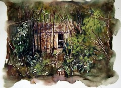 A Casa da Madrinha (Marianoff) Tags: watercolor aquarelle watercolour aquarela aquarell marianoff