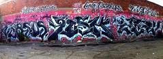 VERSUZ FISHE ZEW (UTap0ut) Tags: california ca street fish art cali graffiti mural paint tag style can spray letter graff aerosol lts fishe kog versuz zew