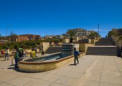 Mai Khan Khan Fountain in Asmara, Eritrea (Eric Lafforgue) Tags: africa street color colour outdoors photography italian artdeco asmara eritrea hornofafr