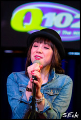 Carly Rae Jepsen @ Q102 iHeartRadio (Stephen Eckert) Tags: philadelphia cafe live pop maxwell acoustic philly top40 studiosession q102 carlyraejepsen wioq maxwellshouse stepheneckert iheartradioperformancetheatre callmemaybe