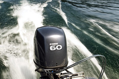 Yamaha 60 (Curtis Gregory Perry) Tags: lake water oregon agua wasser detroit engine yamaha motor 60 outboard 水 vatn 注入水