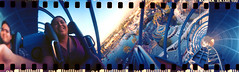 Screamin' (bredgur) Tags: amanda film girl 35mm lomo lomography ride 360 drop disney rollercoaster dca themepark spinner disneycaliforniaadventure californiascreamin paradisepier disneylandresort lomographyspinner360° lomospinner