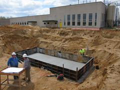 Building a bigger brewery: 200-Barrel Brewhouse (Bell's Brewery) Tags: bells construction comstock bellsbrewery michigab 200barrelbrewhouse
