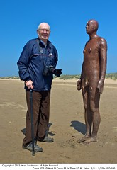 My Father at Another Place (MarSan Photos) Tags: england sculpture tourism beach unitedkingdom arts crosby antonygormley merseyside gbr anotherplace
