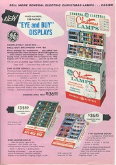 GE 1962 Sales Flyer  back (JeffCarter629) Tags: christmaslights vintagechristmas generalelectricchristmas gechristmas 1962christmaslights gelightingsales