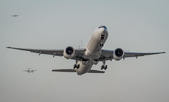 Air France B777-300 (360 Photography) Tags: plane airplane montreal aviation boeing takeoff 777 dorval avion airfrance 2012 yul b777 fgzno 210512 mathieupouliot