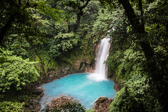 Celeste Catarata (Sky Blue Waterfall) near volcan Tenorio (mikebaird) Tags: costarica tenorio mikebaird 03may2012