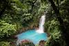 Celeste Catarata (Sky Blue Waterfall) near volcan Tenorio (mikebaird) Tags: costarica tenorio mikebaird 03may2012
