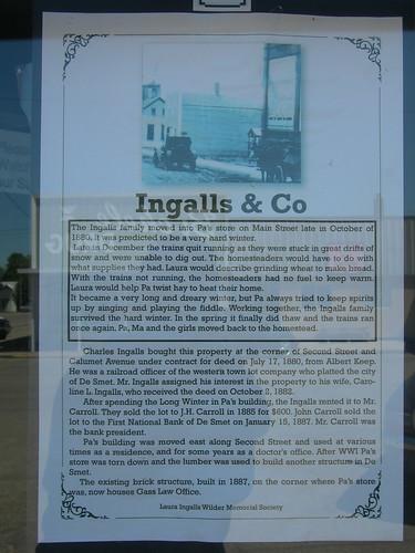Ingalls & Company Store Plaque