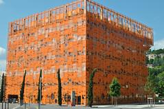 Lyon - Confluence (AlYoQui) Tags: urban france architecture modern de design lyon rhne moderne ville confluence urbain quais sane