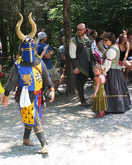 Tennessee Renaissance Festival 2012  Knight Stroll (oldsouthvideo) Tags: tennessee tn renaissance festival 2012 queen knight regal castle gwynn taylor swift fairy fairie troll ik armor faire tapestry triune arrington may spring jousting pirates costumes