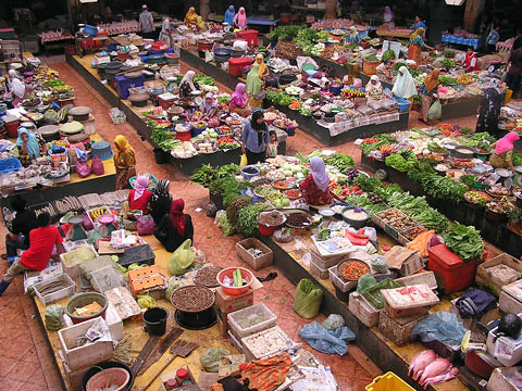 Kota Barhu market