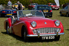 Triumph TR3A (<p&p>) Tags: red classic cars car table scotland classiccar 2000 rally may round triumph vehicle classiccars roundtable 1959 2012 tr3a strathaven classiccarshow southlanarkshire 2000cc classiccarrally 20litre triumphtr3a may2012 classicvehiclerally classicvehicleshow tfw820 strathavenanddistrictroundtable strathavendistrictroundtable