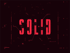 Solid (Bao Office) Tags: red typography office graphic tech type fi vector sci bao nguyen solid