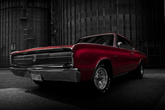 """Soul Charger"" (Neil Banich Photography) Tags: red cars automobile 1967 dodge custom musclecars 1976 hotrods dodgecharger coolcars carpictures banich charger440 artcarart photograhyauto coolhotrods magnumneil"