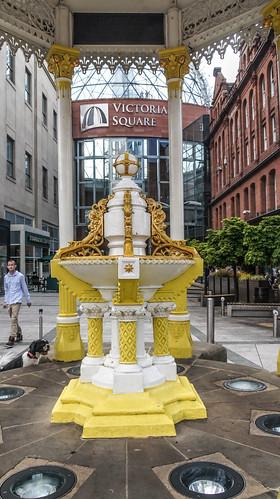 Jaffe Fountain - Victoria Square Belfast