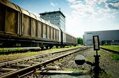 linz hafen (BPK's Fotos) Tags: city train linz austria österreich railway zug mai hafen oberösterreich 2012 oö upperaustria voest canon600d sigma1750f28exdchsm