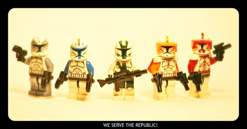 The 5 Lego Commanders