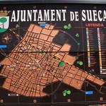 Mapa Sueca. Carrers. Av.Pais Valencia. Sueca. 19-5-2012 thumbnail
