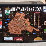 Mapa Sueca i Publicitat. Av.Pais Valencia. Sueca. 19-5-2012 thumbnail