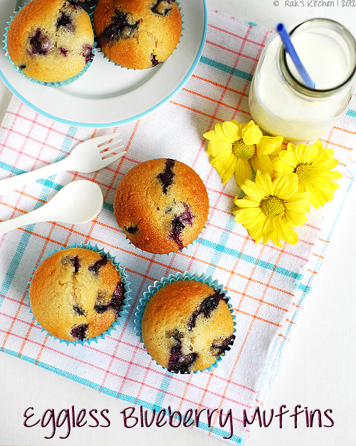 eggless-blueberry-muffin