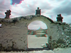 Parinacota Chile, 3D photo (anaglyph) (Stereomania) Tags: chile grande stereoscopic stereophoto stereophotography 3d chili stereo stereoview norte