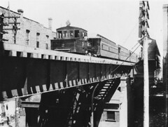 South Side 'L' in 1893 (cta web) Tags: railroad chicago train cta southside elevated pershing 39thstreet