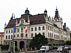 Provincial Mansion, University of Ljubljana 1896-1902, Congress Square, Ljubljana, Slovenia (Snuffy) Tags: slovenia ljubljana congresssquare universityofljubljana eliteclub provincialmansion