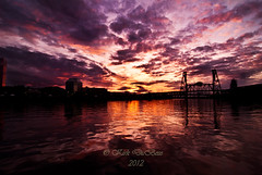 When the Heavens touch the Earth (Kirk DuBose) Tags: sunset june oregon portland evening nikon pdx d200 portlandoregon willametteriver stumptown kirkdubosephotography